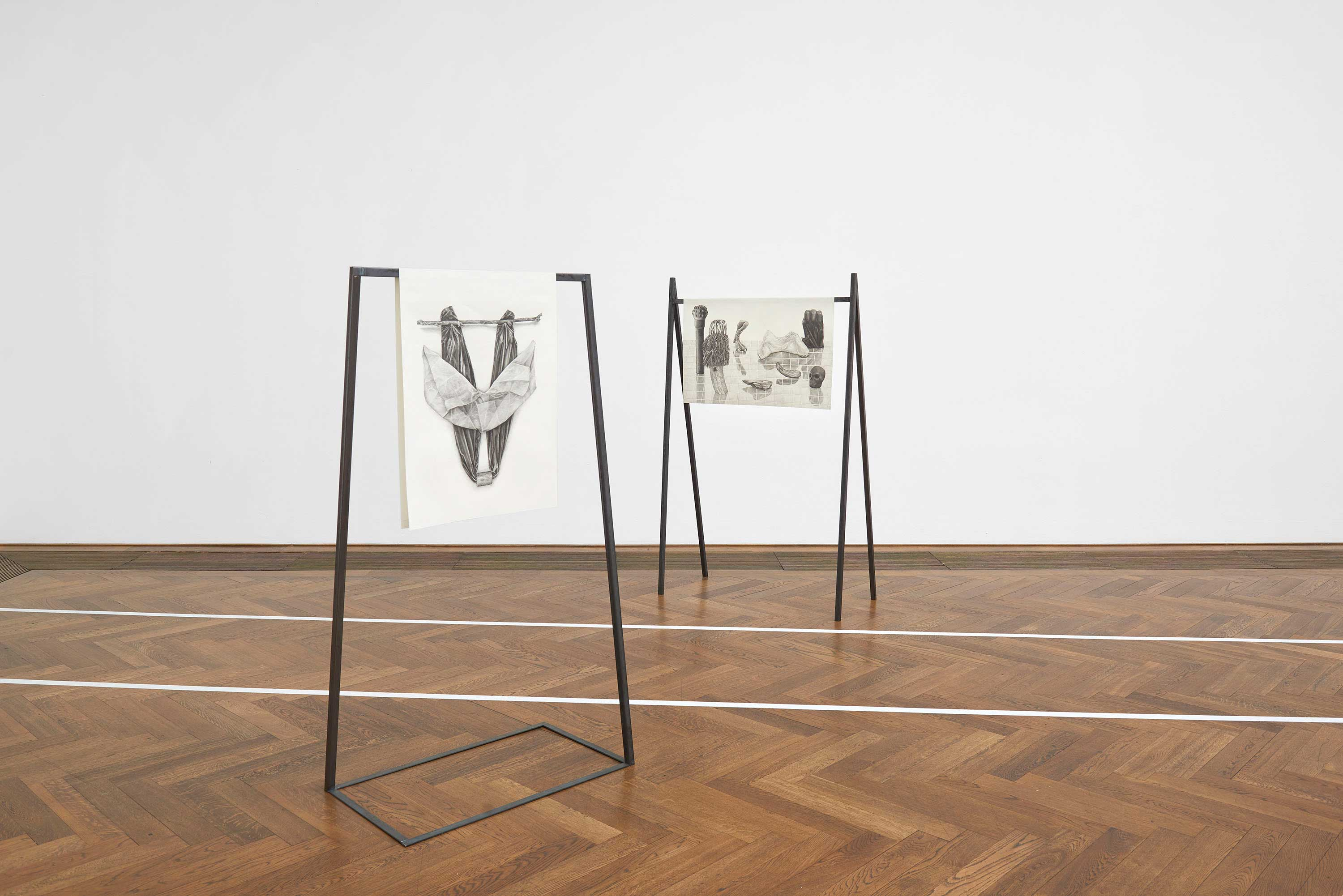 Vue d'exposition : Situation-1-und-andere Kunsthalle-Basel – 2020